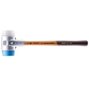 Halder Simplex Soft Face Mallet Hammer With Aluminium Housing (Various Sizes)