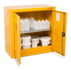 Armorgard SafeStor HFC3 Secure Chemical Storage Cabinet - 900 x 465 x 900mm