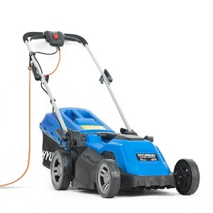 Hyundai HYM3800E Electric 1600w Push Lawn Mower 38cm/15in 240v