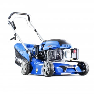 Hyundai HYM430SPE Petrol Self Propelled Lawn Mower 42m/16.5in Elec Start