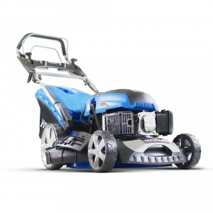 Hyundai HYM460SPE Petrol Self Propelled Lawn Mower 46cm/18in Elec Start