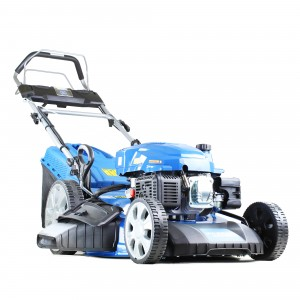 Hyundai HYM530SPE Petrol Self Propelled Lawn Mower 53cm/21cm Elec Start