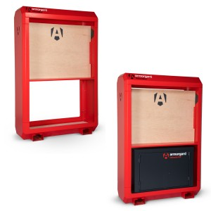 Armorgard InstructaHut Safety Storage Station (With or Without Cabinet)