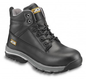JCB WORKMAX Safety Work Boots Black (Sizes 6-13) Steel Toecap & Midsole