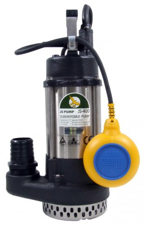 JS400 2in Submersible Drainage Automatic Pump with Float Switch (110 or 240v)