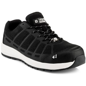 Buckler KEZ Safety Work Trainer Shoes Black (Sizes 6-13)
