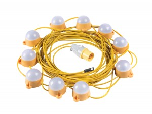Elite LED Fully Enclosed Festoon Lighting Kit 110v - 22 Metres
