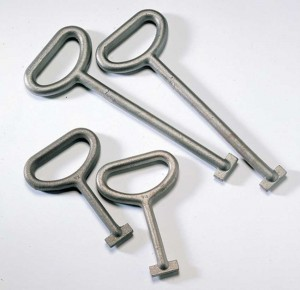 Manhole Lifting Keys - Pair (Various Sizes)