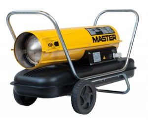 Master B150 Direct Diesel Oil Fired Heater Dual Voltage 240v & 110v