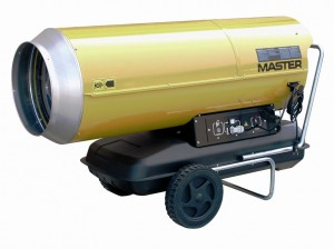Master B230 Direct Diesel Oil Fired Heater 222,000Btu
