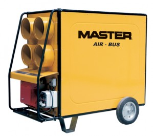 Master BV690FS Indirect Diesel Oil Fired Heater 751,000Btu