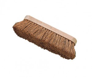 Natural Coco Fill Broom Brush Head 250mm