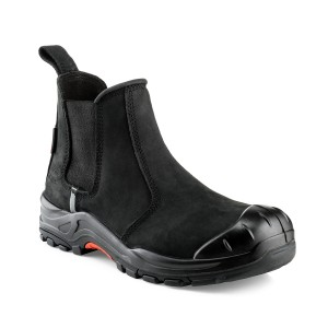 Buckler NKZ101BK Nubuckz Non-metallic Dealer Boots Black (Sizes 6-13)