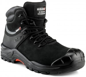 Buckler NKZ102BK Nubuckz Non-metallic Dealer Boots Black (Sizes 6-13)