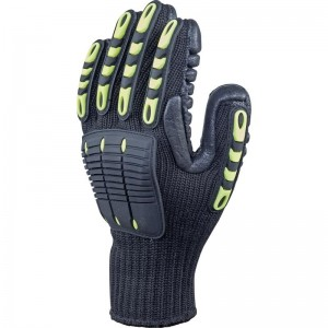 Delta Plus NYSOS VV904 Safety Gloves High-Tech Anti-Vibration Polyester (Various Sizes)