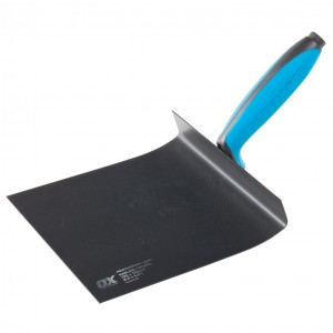 OX Pro Harling Trowel with Duragrip Handle - 165 x 165mm