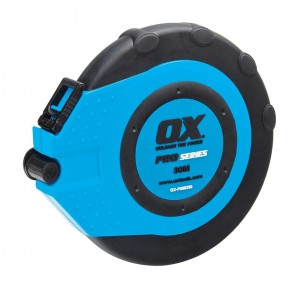 OX Pro Fibreglass Closed Reel Tape Measure - 30m