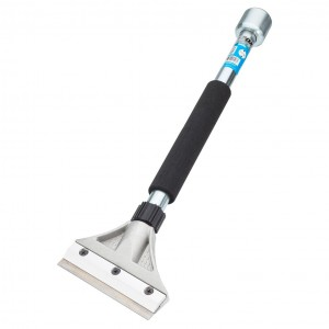 OX Pro Heavy Duty Scraper 127mm Blade Width with 450mm Handle & Hammer End
