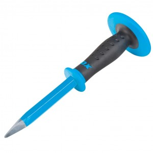 OX Pro Concrete Chisel with Dual Hand Guard - 19 x 305