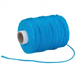 OX Pro Ultra Tough Nylon Braided Builders Line Cyan - 105m