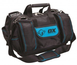 OX Pro Heavy Duty Super Zip Top Tool Bag