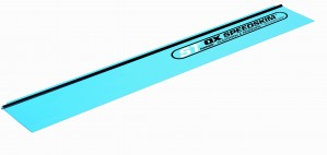 OX Speedskim Semi Flexible Plastering Rule / Render Finishing Tool Blade Only (Various Sizes)