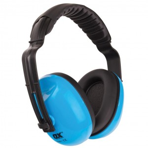 OX Premium Ultra Lightweight Ear Defenders - SNR 27dB