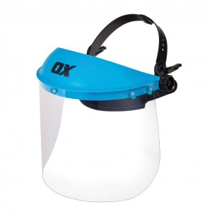 OX Polycarbonate Full Face Shield - Universal Size
