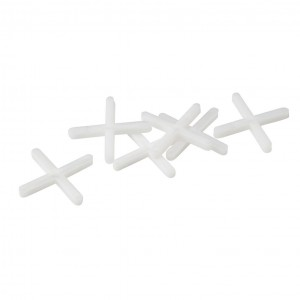 OX Trade Cross Shaped Tile Spacers Pack of 250 (Various Sizes)