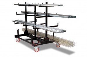 Armorgard PipeRack Mobile Pipe Storage Rack Trolley 2-Tonne 1000x1500x1560mm