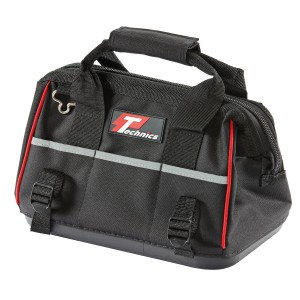 Technics Heavy Duty Tool Bag With Shoulder Strap Black 13in