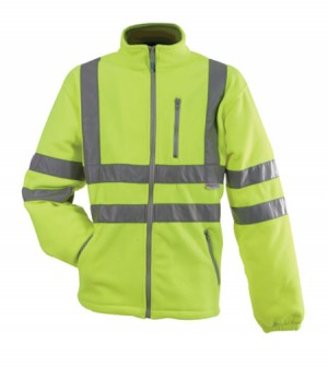 Pulsar P507 Classic Hi-Vis Yellow Fleece Jacket (Sizes S-XXXL)