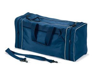 Quadra QD080 Navy PPE Jumbo Workwear Holdall / Kit Bag with Racket Compartment