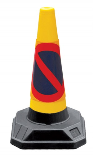Roadhog Recycled No Waiting Traffic / Road Cone 45cm