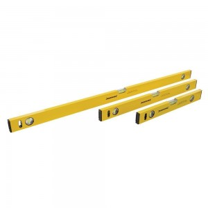 Silverline Builders Spirit Level Set - 3 Piece
