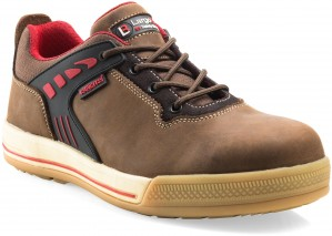 Buckler Largo Bay Safety Work Trainer Shoes Brown (Sizes 6-13)