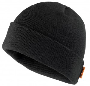 Scruffs Knitted Thinsulate Black Beanie Hat T50987
