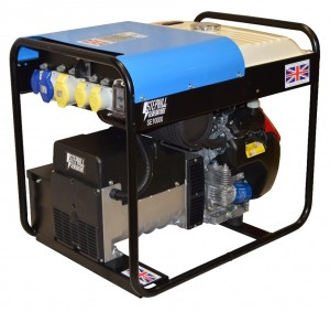 Stephill SE10000 Petrol Generator with Long Run Tank 8.0kW/10.0kVA