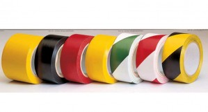 Self Adhesive Floor Marking Hazard / Danger Warning Tape 33mtr x 50mm Wide (Various Colours)