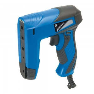 Silverline 45w Compact Corded Nailer/Stapler Gun 15mm