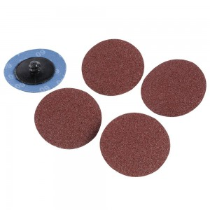 Silverline 50mm Quick-Change Sanding Discs Set 5 Piece (Various Sizes)