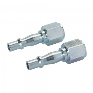 Silverline Air Line Coupling Bayonet Female Thread Pack of 2