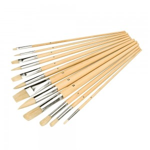 Silverline Artists Paint Brush Sets 12 Piece (Various Tip Options)
