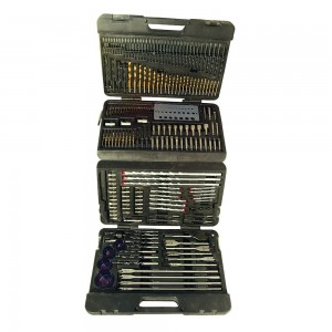 Silverline Assorted Drill Bit Set 204 Piece