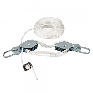 Silverline Cable Pulley Lifting Set 180kg