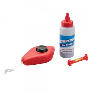 Silverline Chalk Line Set 3 Piece