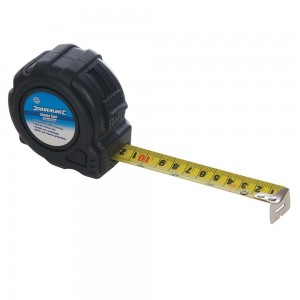 Silverline Chunky Tape Measure 5 Metre