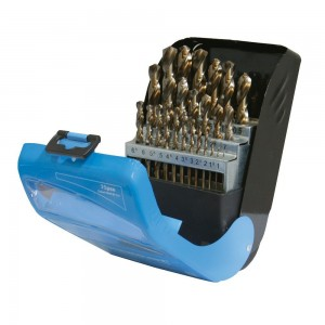 Silverline Cobalt Drill Bit Set 25 Piece (1-13mm)