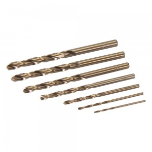 Silverline Cobalt Drill Bit Set 7 Piece (1.5-6mm)