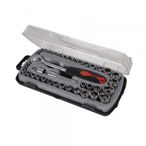 Silverline Compact Socket Set 39 Piece